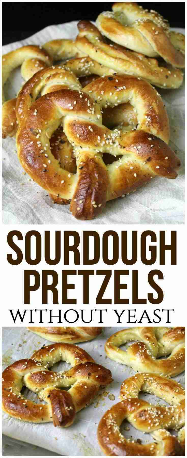 Sourdough Pretzels Recipe (No Yeast!)