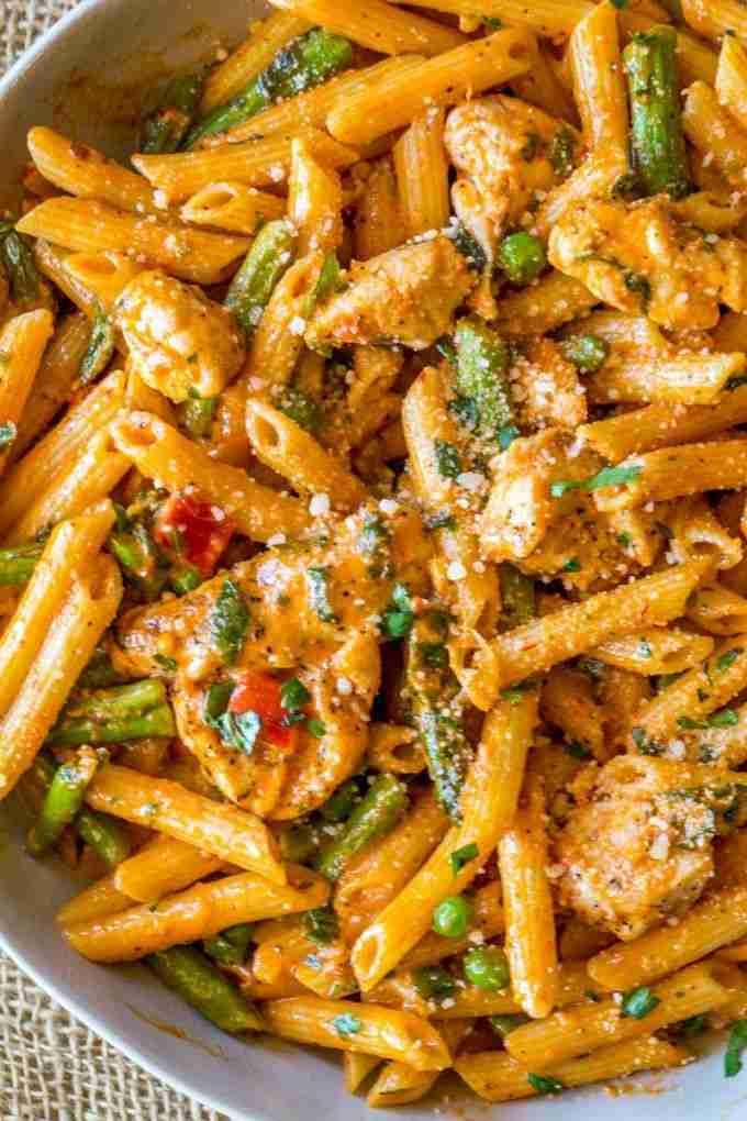 Spicy Chicken Chipotle Pasta (Copycat) – Dinner, then Dessert
