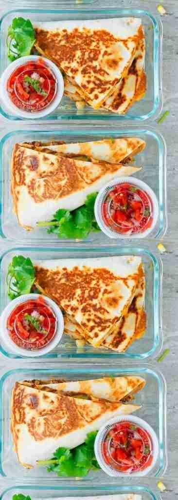 Spicy Chicken Ranch Quesadilla + Meal Prep | KITCHEN @ HOSKINS