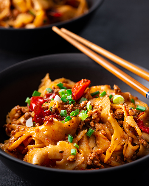 Spicy Pork Hand Pulled Noodles – Marion's Kitchen