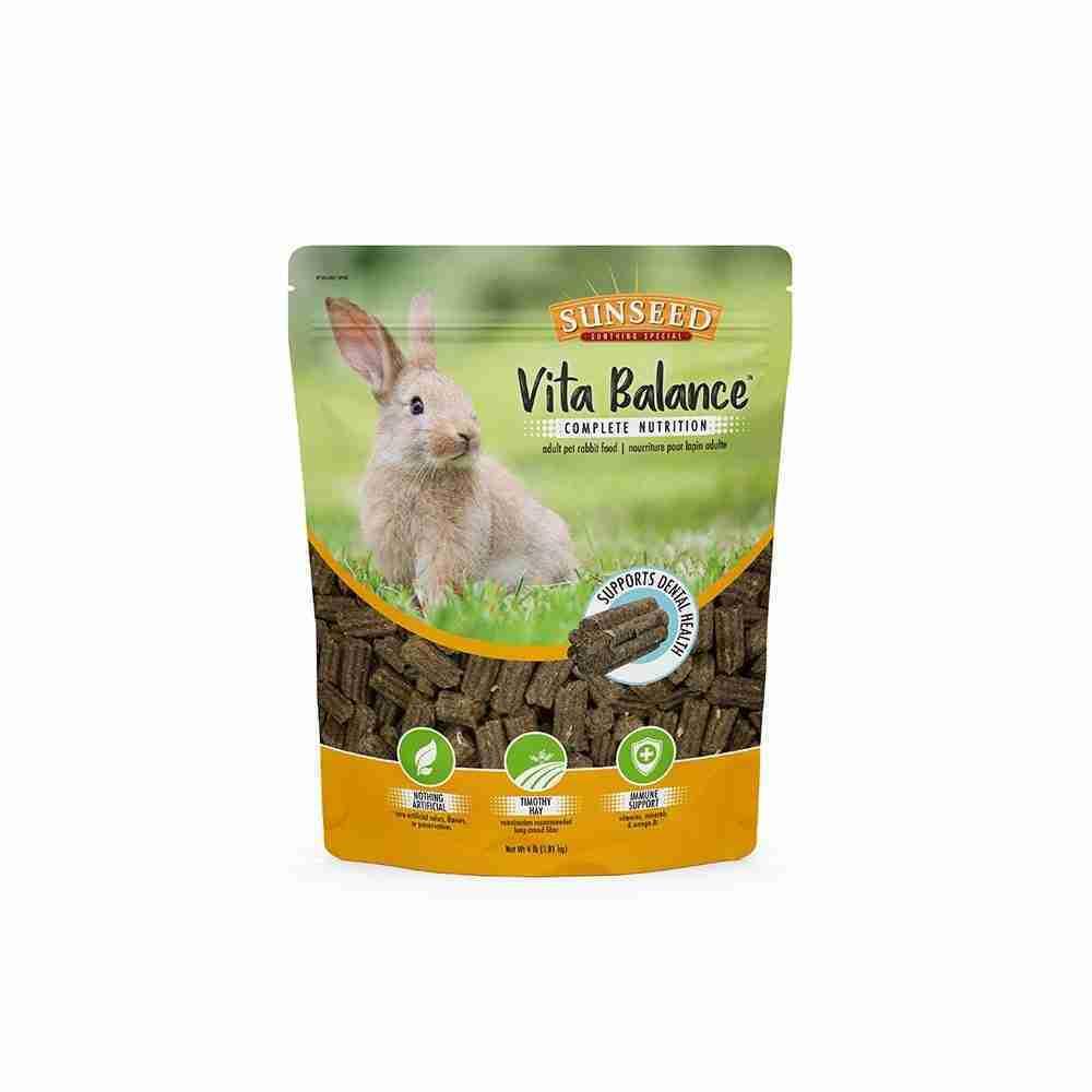 Sunseed® Vita Balance™ Adult Pet Rabbit Food 4 Lbs