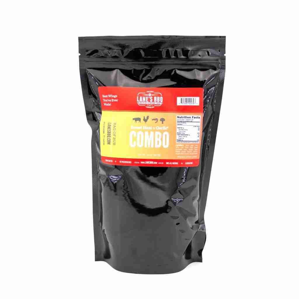 Sweet-Lic – Combo Rub: Sweet Heat + Garlic² – 2lb Bag