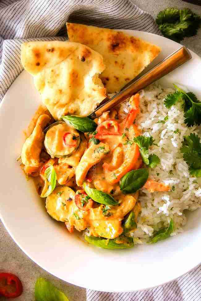 Thai Red Curry Chicken and Vegetables – Carlsbad Cravings