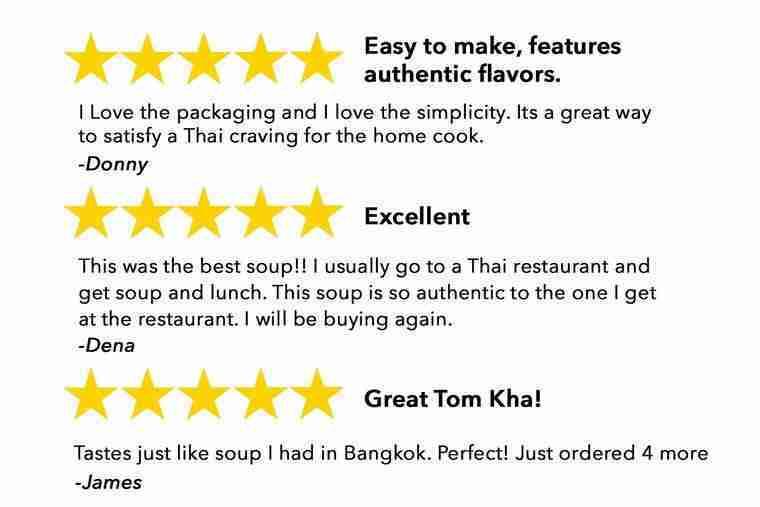 Thai for Two – Organic Tom Kha Soup