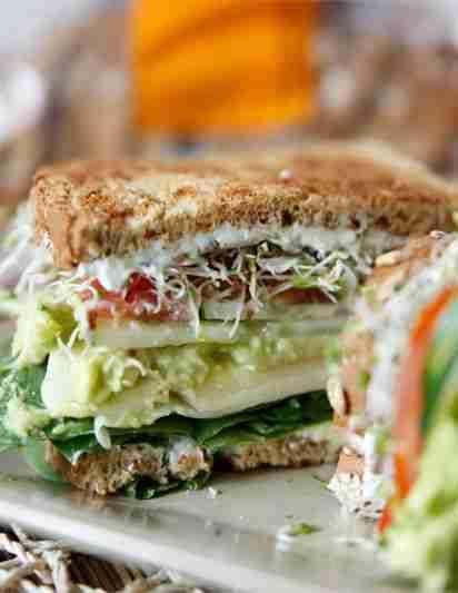The Ultimate Veggie Sandwich + Video