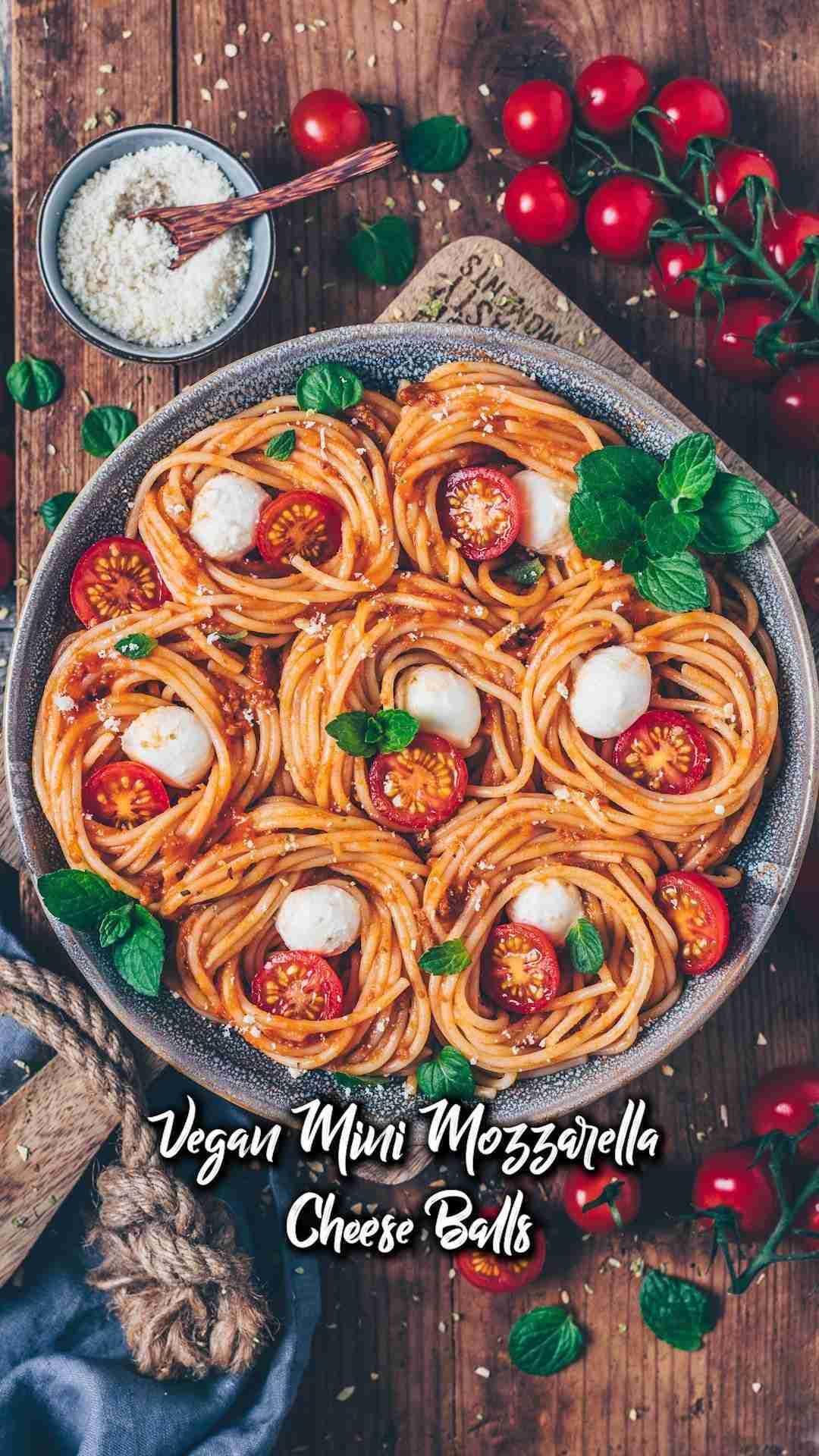 Vegan Mini Mozzarella Cheese Balls – The BEST Recipe!