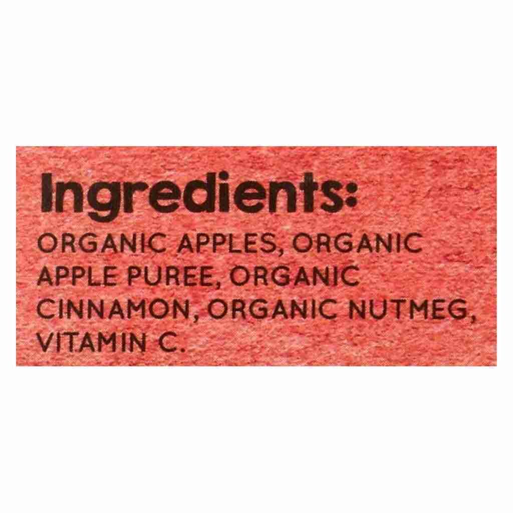 Vermont Village Organic Applesauce – Cinnamon – Case Of 12 – 4 Oz.
