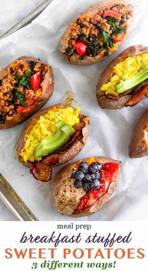 Whole30 Sweet Potato Breakfast 3 Ways