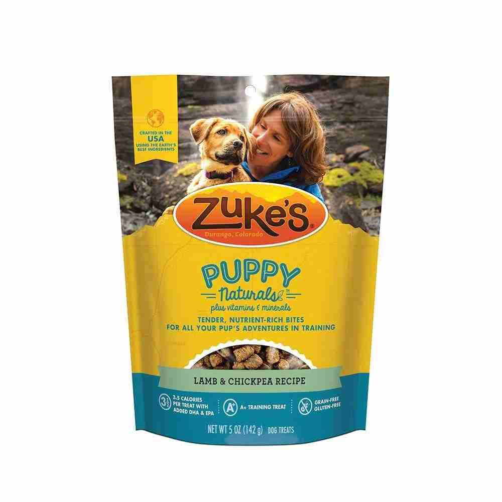 Zuke's® Puppy Naturals® Grain Free Lamb & Chickpea Recipe Dog Treats 5 Oz