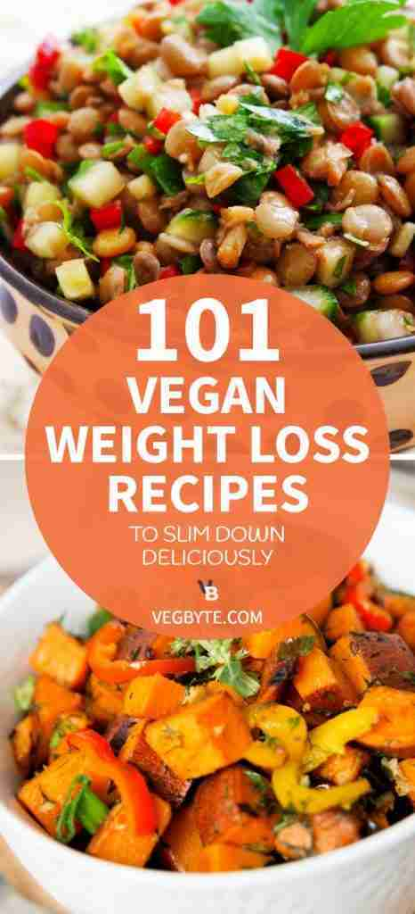 101 Vegan Weight Loss Recipes to Slim down Deliciously