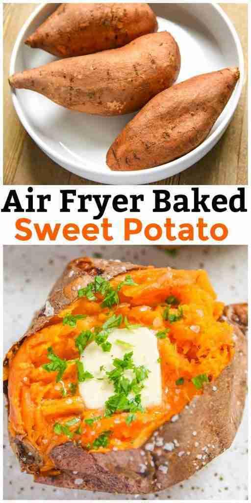 Air Fryer Baked Sweet Potato