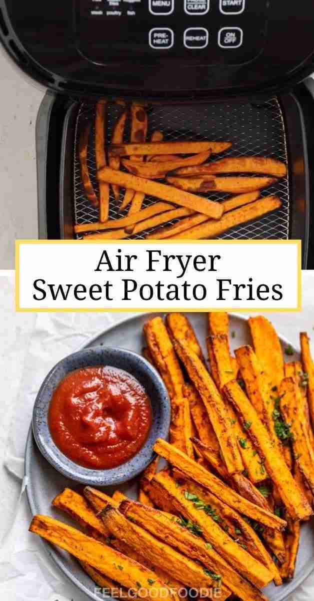 Air Fryer Sweet Potato Fries Video