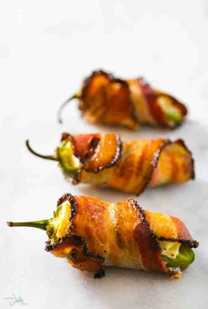 Bacon Wrapped Jalapeno Popper Appetizer Recipe – Sober Julie