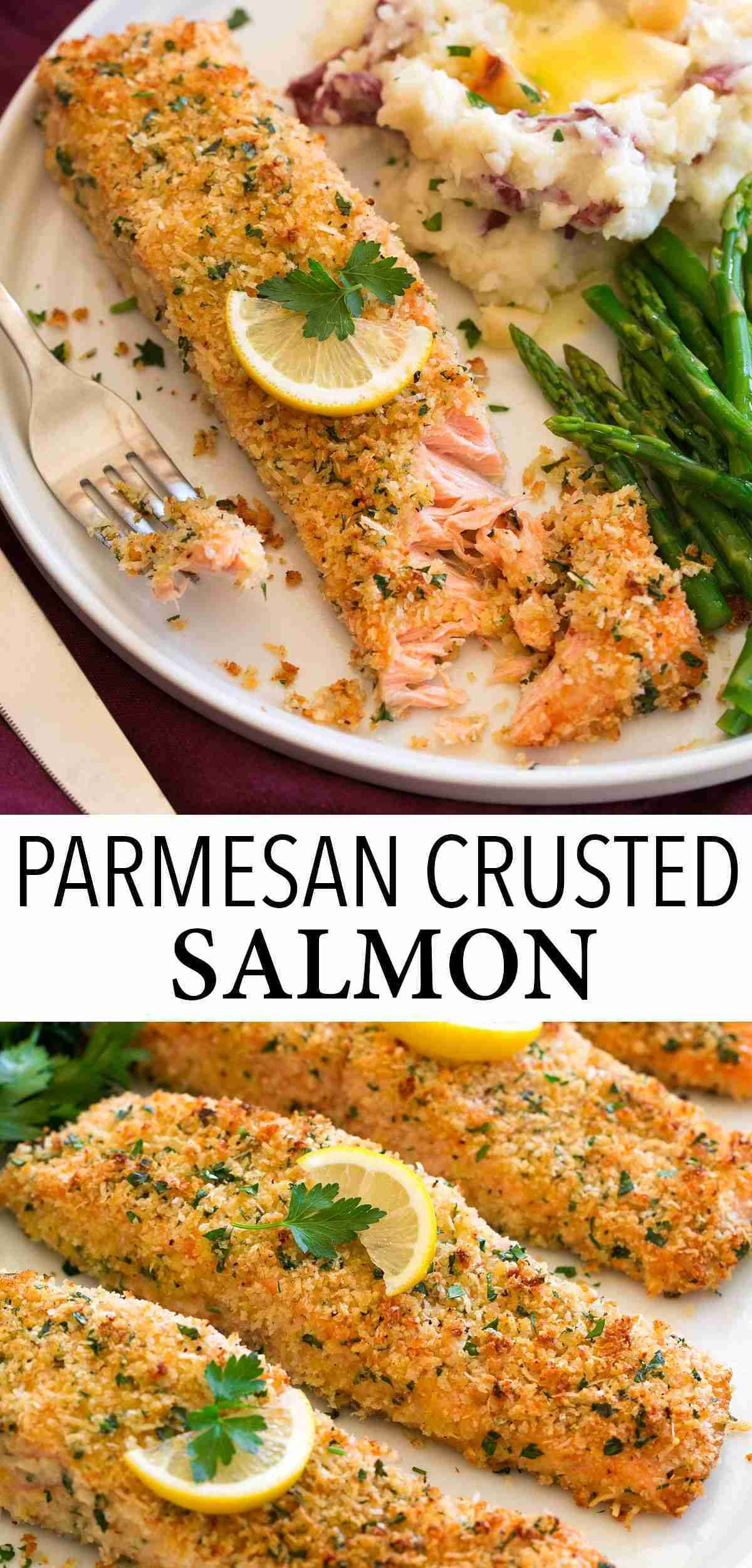 Baked Parmesan Crusted Salmon – Cooking Classy