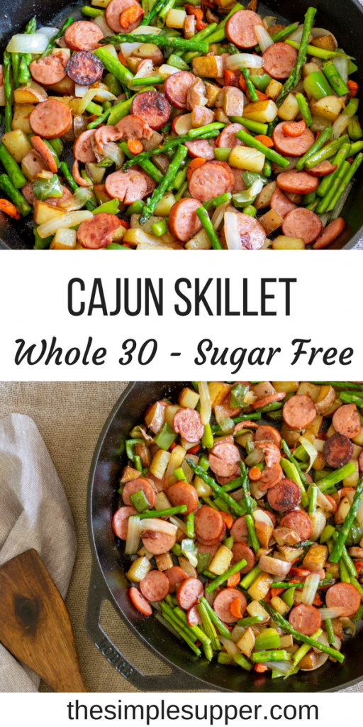 Cajun Asparagus and Sausage Skillet   The Simple Supper