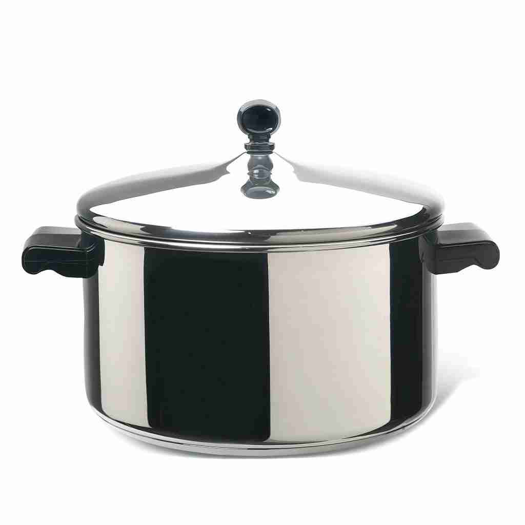 Classic Stainless Steel 6-Quart Covered Stockpot