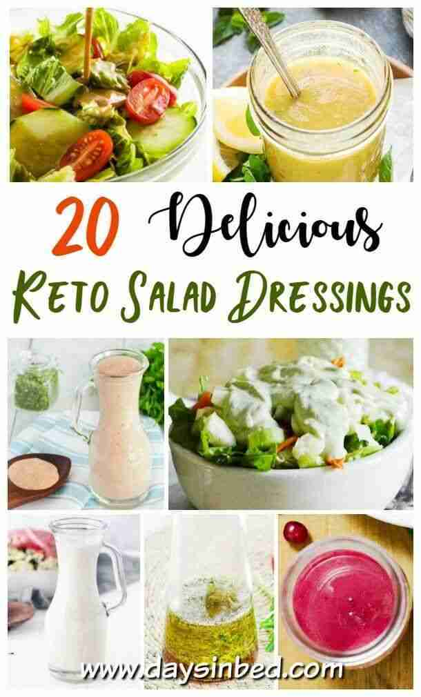 Delicious Low Carb Keto Salad Dressings – The Instant Pot Table
