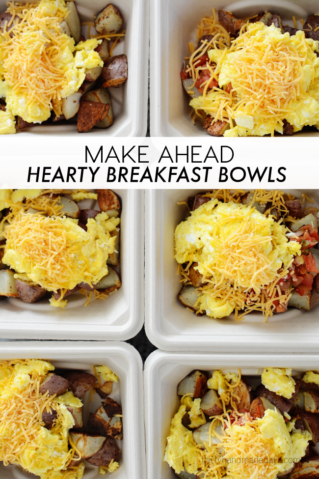 EASY TO MAKE BREAKFAST BOWLS