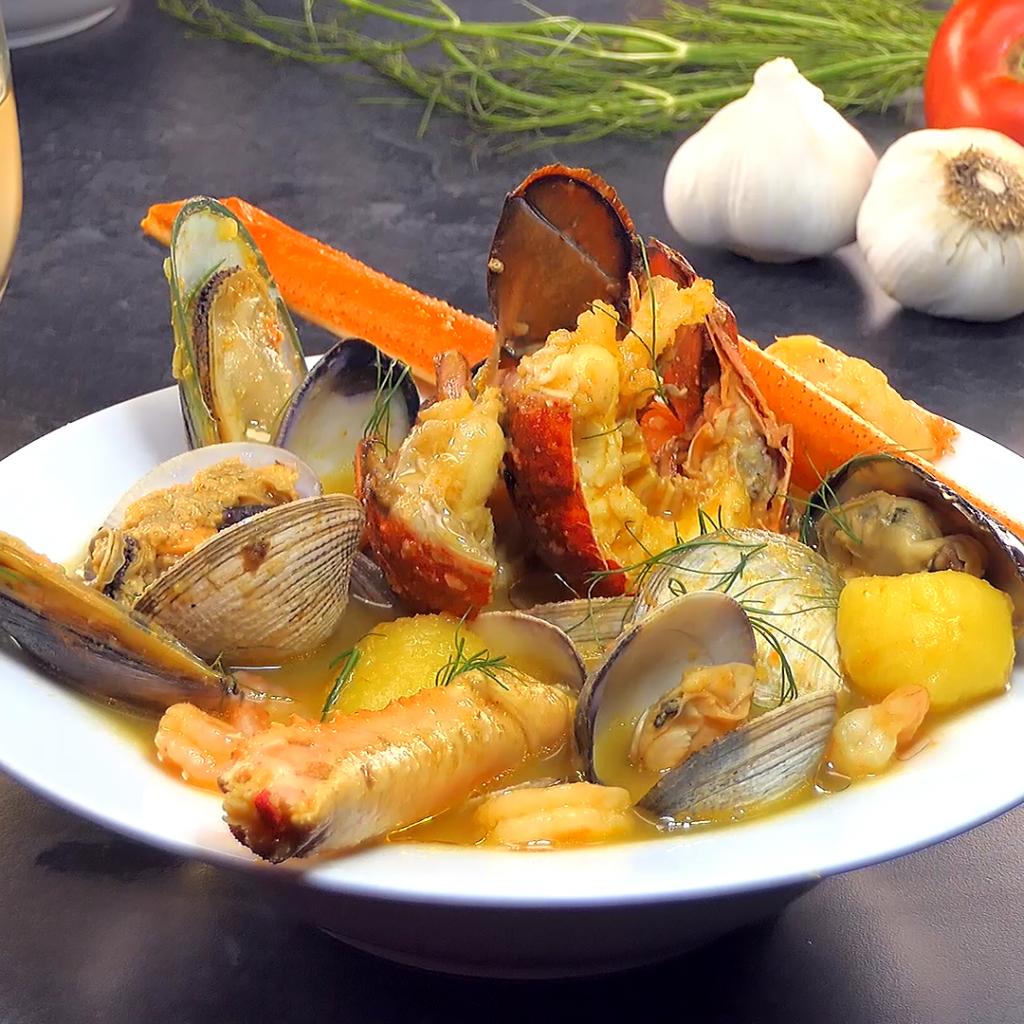 Easy Seafood Bouillabaisse