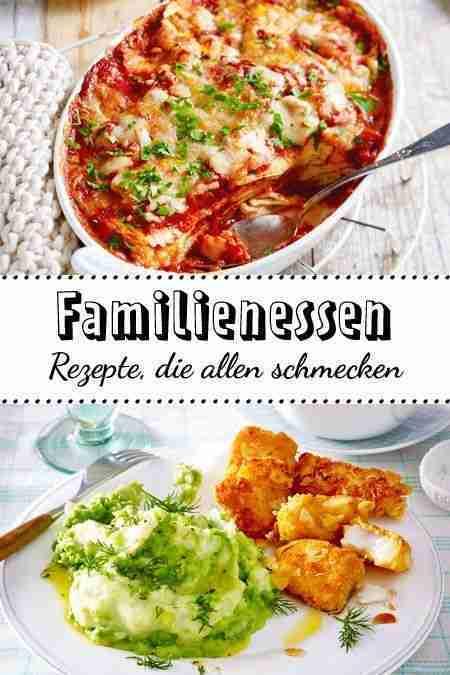 Familienessen – Rezepte, die allen schmecken | LECKER
