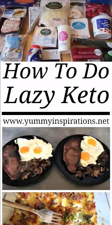 How To Do Lazy Keto