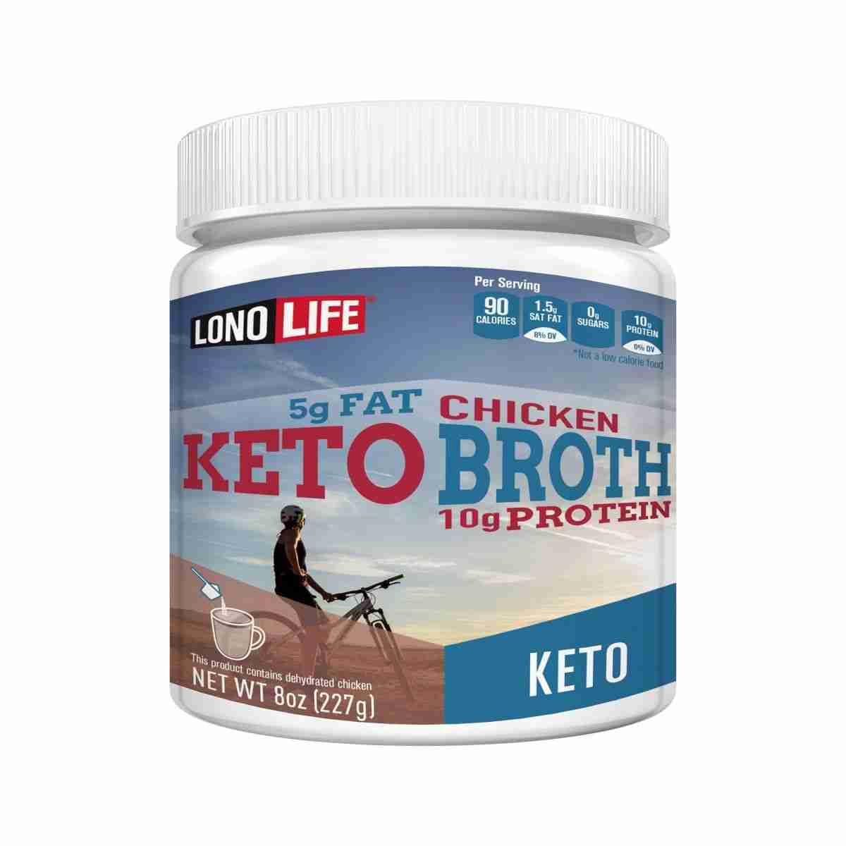 Keto Chicken Bone Broth Bulk Container – 4 Containers