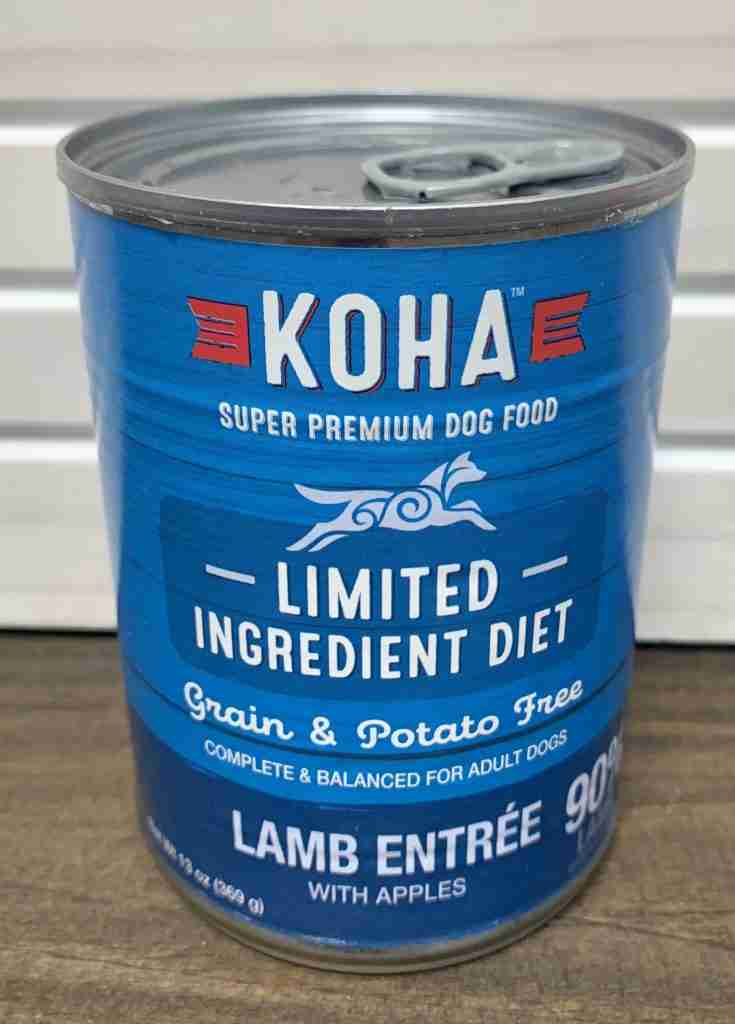 Koha Limited Ingredient Lamb Entree for Dogs – One can