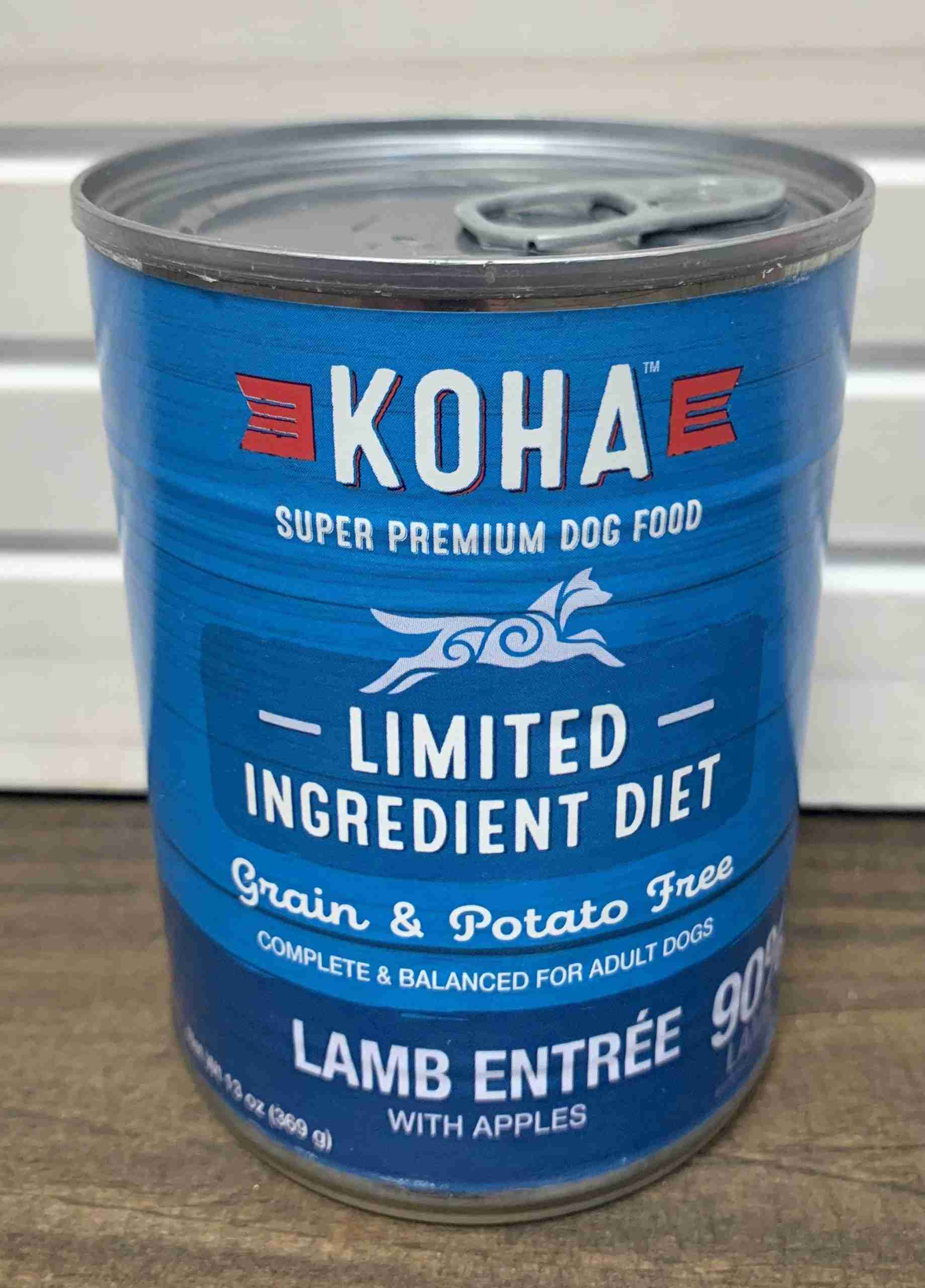 Koha Limited Ingredient Lamb Entree for Dogs – One case (12 cans)