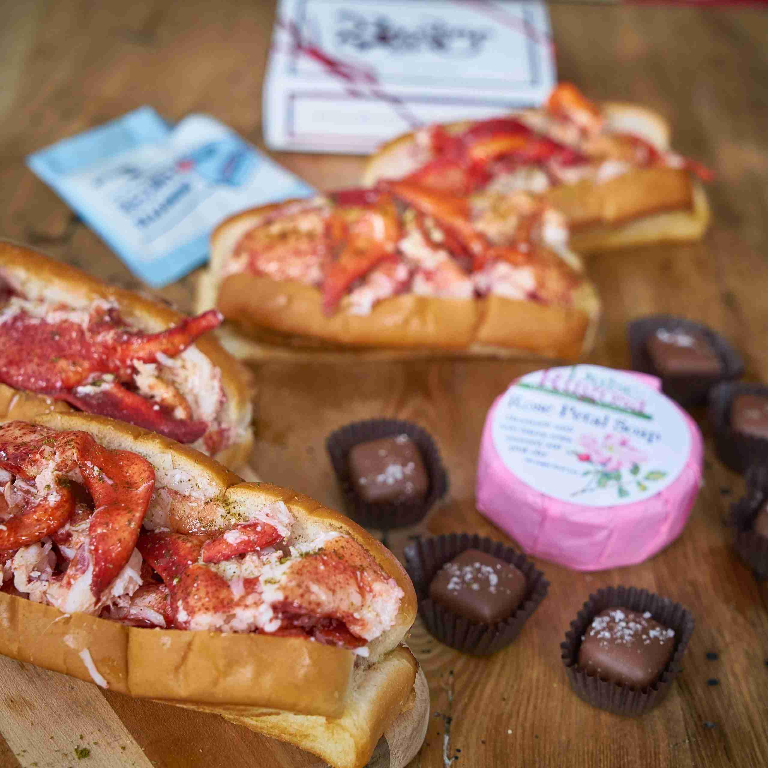 Mother's Day Lobster Rolls & Chocolate Bundle