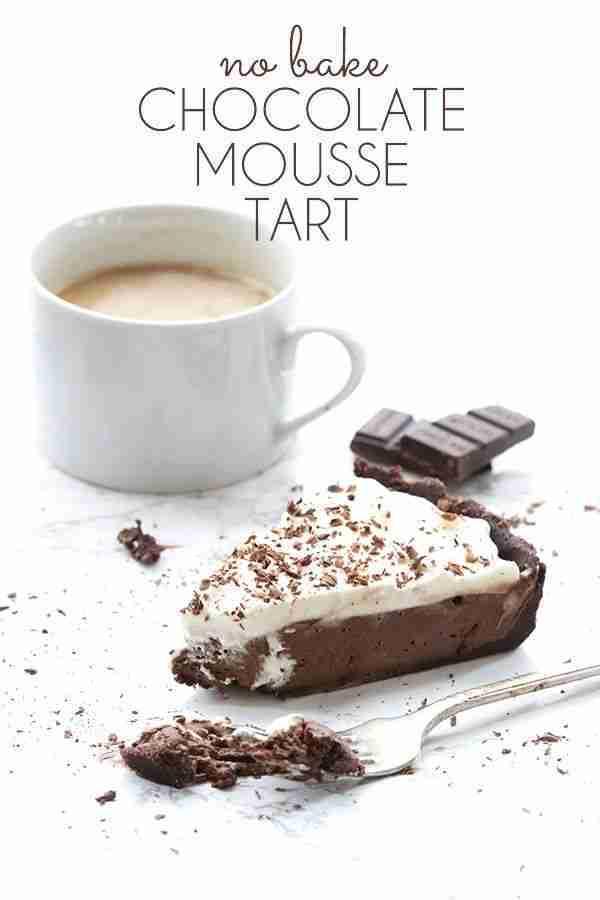 No Bake Chocolate Mousse Tart