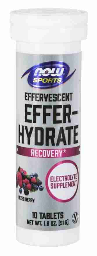 Now Sports – Effer-Hydrate Tablets – Mixed Berry