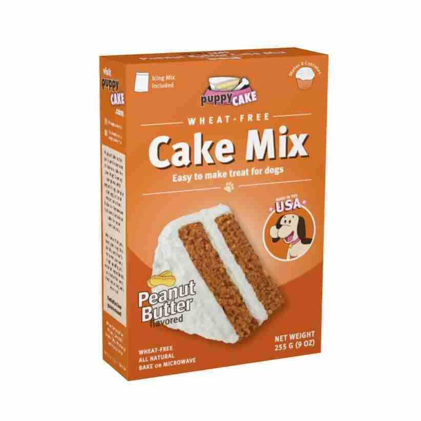 Puppy Cakes Cake Mix – Multiple Flavors – Carob