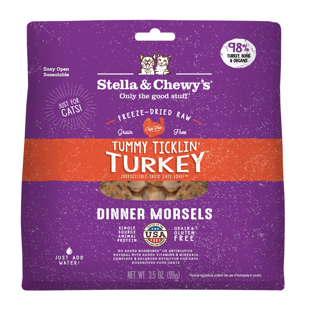 Stella & Chewy's Turkey Dinner Morsels Cat Food