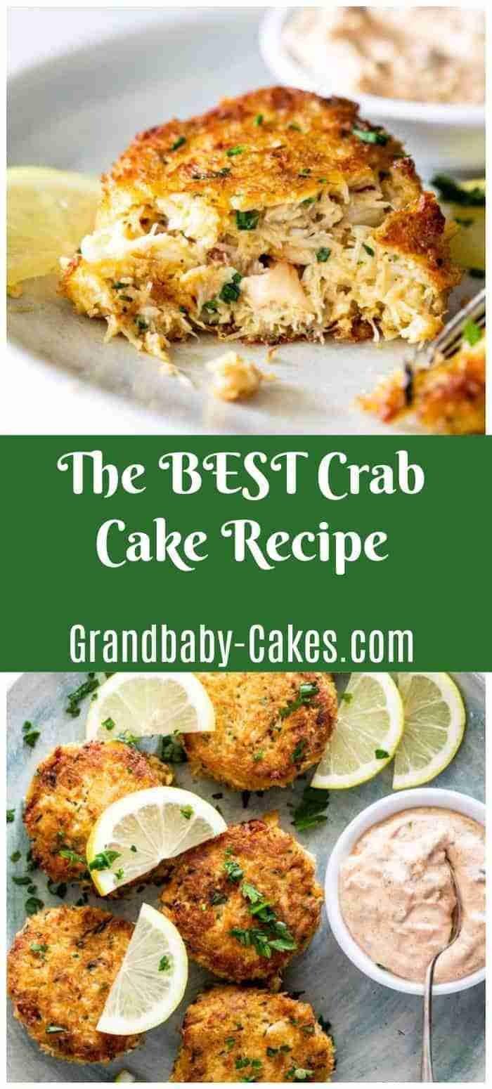 The BEST Crab Cakes EVER!