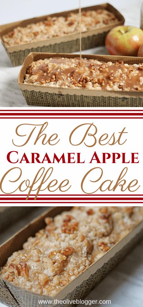 The Best Caramel Apple Coffee Cake Recipe
