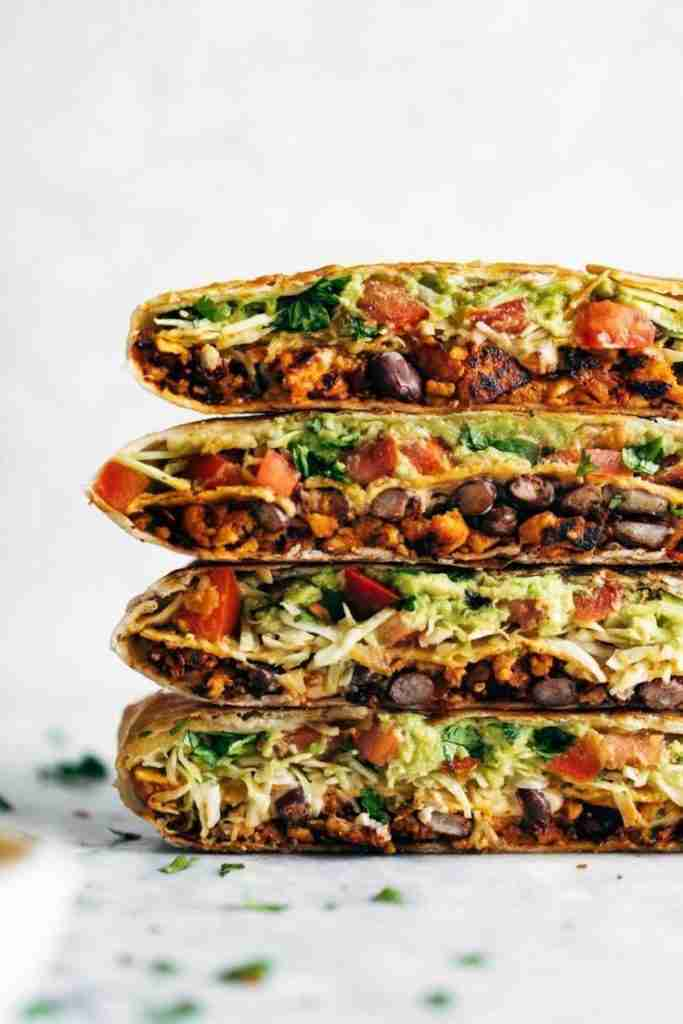 Vegan Crunchwrap Supreme – Pinch of Yum