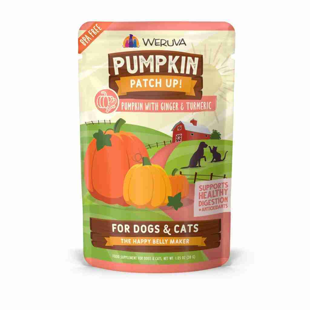 Weruva Pumpkin Patch Up! Ginger and Tumeric Dog & Cat Food Supplements
