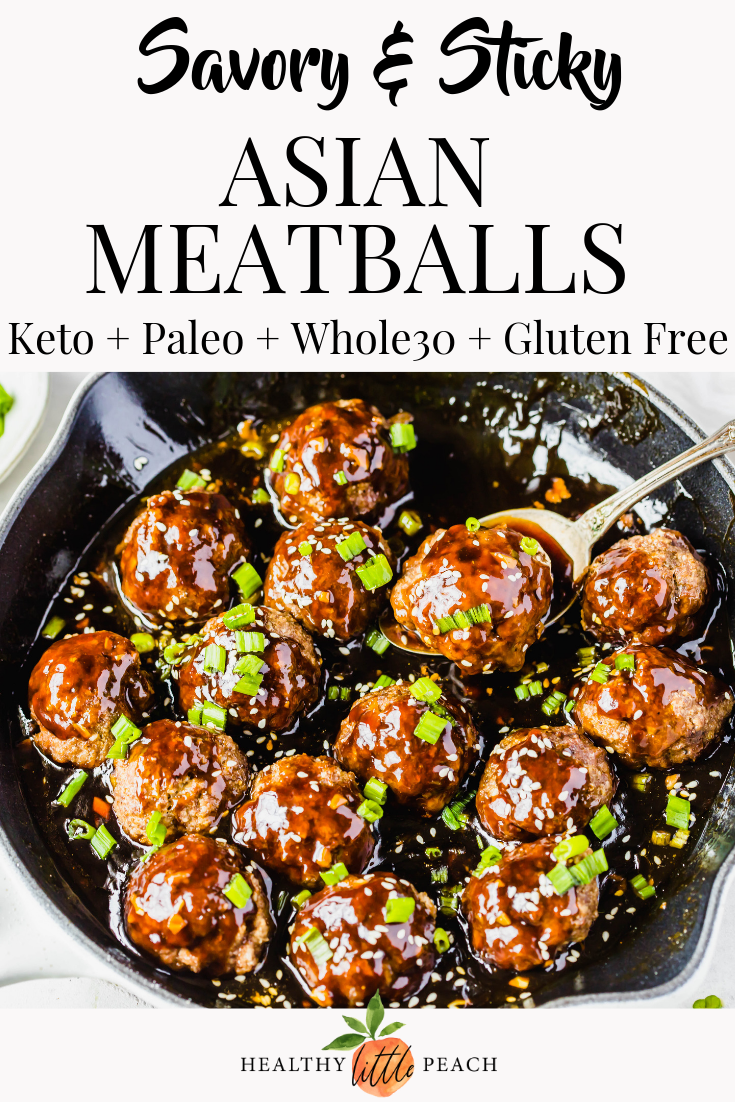 Whole30 Asian Meatballs