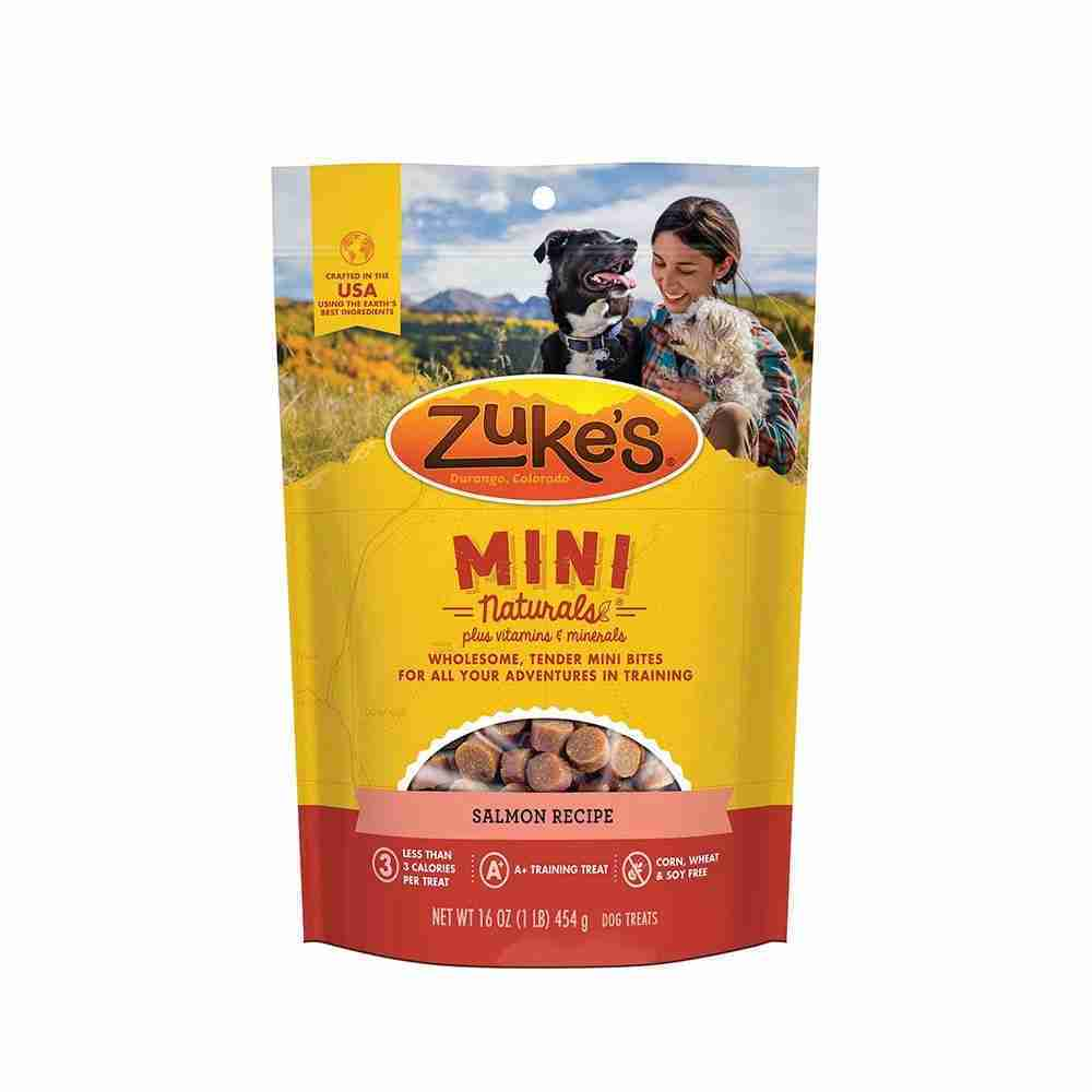 Zuke's® Mini Naturals® Salmon Recipe Dog Treats 16 Oz