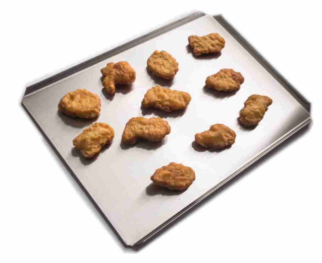 10-1/2 in x 14 in Commercial Quality Stainless Steel Oven Baking Cookie Sheets (2pk)