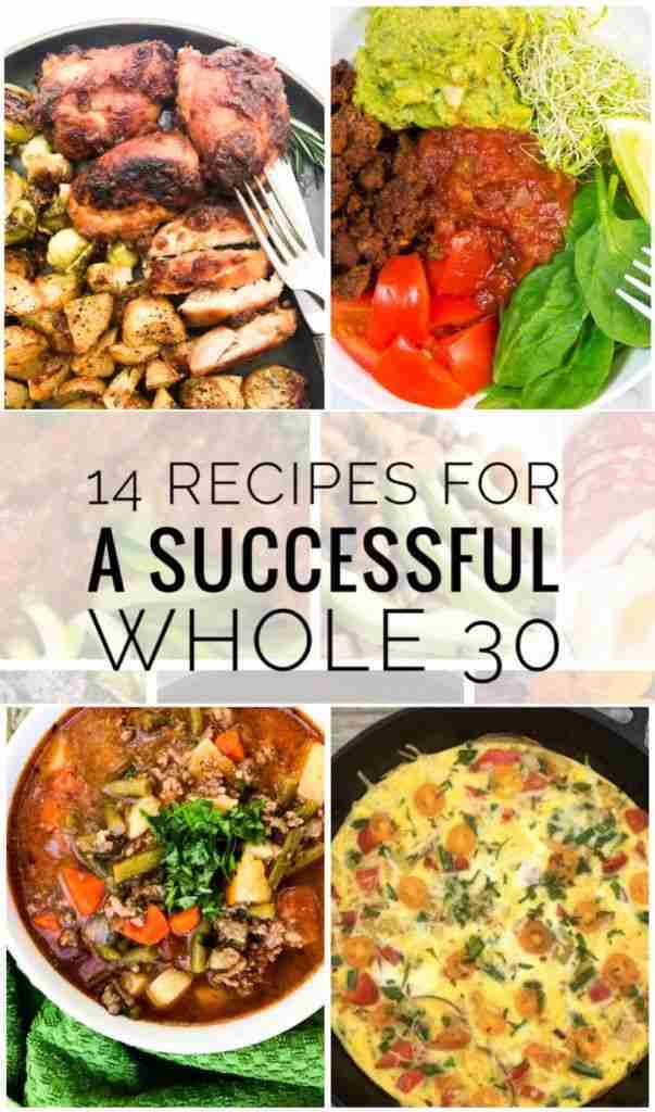 14 Recipes for a Successful Whole 30