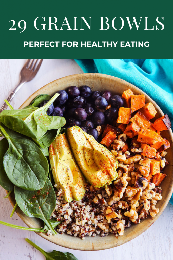 20 Grain Bowls Perfect for Healthy Eating