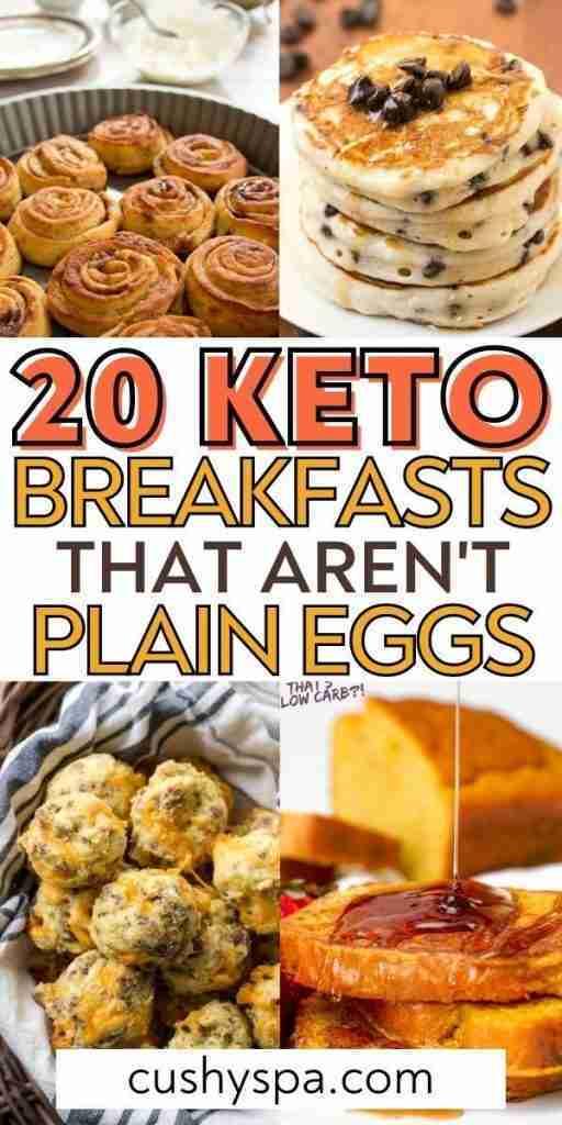 20 Incredibly Tasty Keto Breakfast Meal Ideas