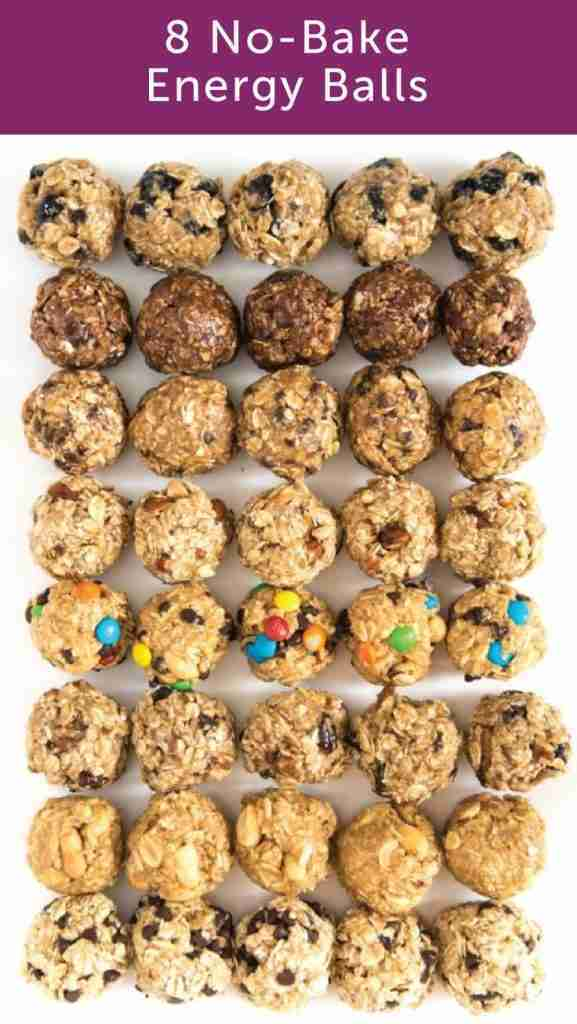 8 No Bake Energy Ball Recipes You Have to Try!