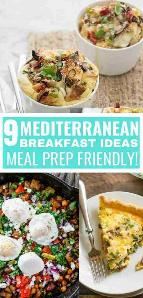 9 Mediterranean Diet Breakfast Recipes: Make-Ahead Friendly