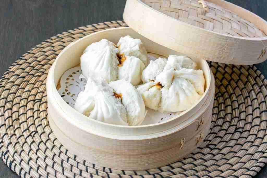 BBQ Pork Buns ( Char Siu Bao) ( 8 Med. buns)