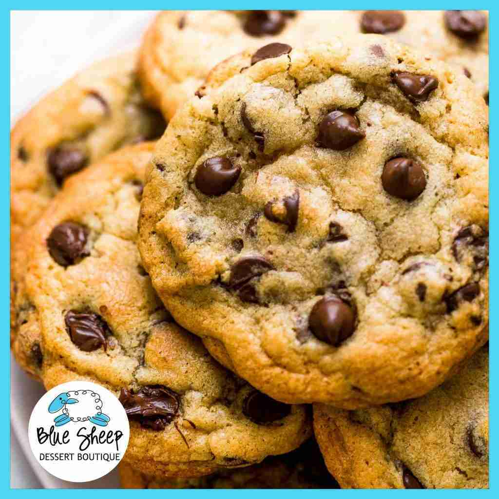 Brown Butter Chocolate Chip Cookie Box – 8 Count
