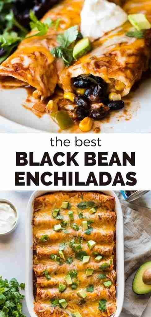 Easy Black Bean Enchiladas – Isabel Eats