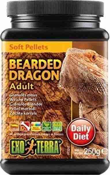 Exo Terra Soft Pellets Adult Bearded Dragon Food – 8.8oz