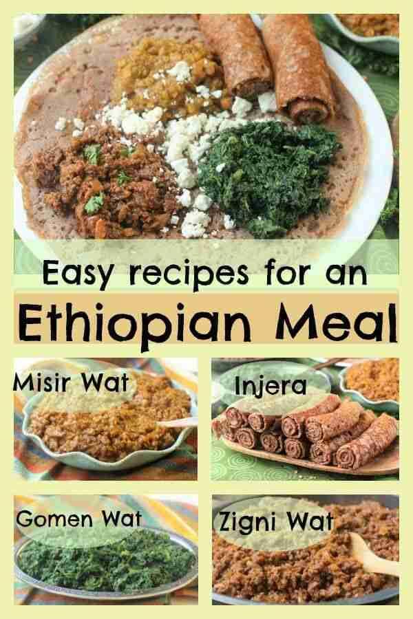 Four Easy Ethiopian Recipes for a Fantastic Feast | Kitchen Frau